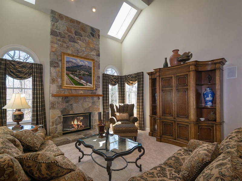 Real Estate Photography - 1110 Alexander Ln, West Chester, PA, 19382 - Family Room