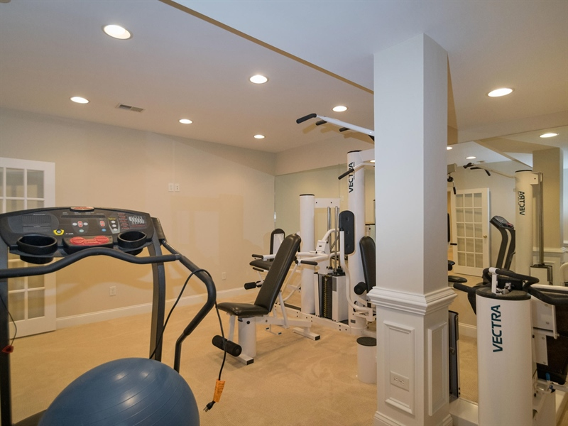 Real Estate Photography - 1110 Alexander Ln, West Chester, PA, 19382 - Work out room