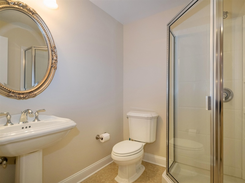 Real Estate Photography - 1110 Alexander Ln, West Chester, PA, 19382 - Lower Level full bathroom