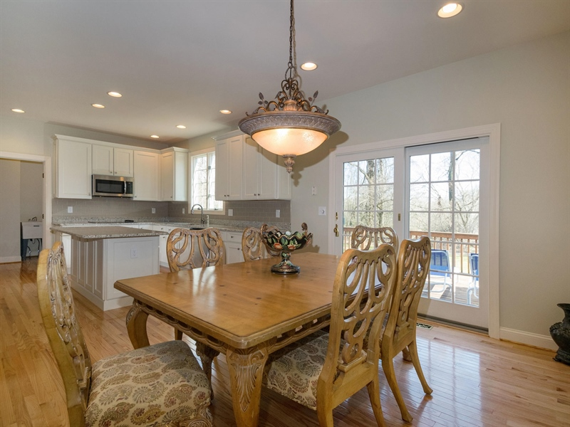 Real Estate Photography - 1110 Alexander Ln, West Chester, PA, 19382 - Breakfast area