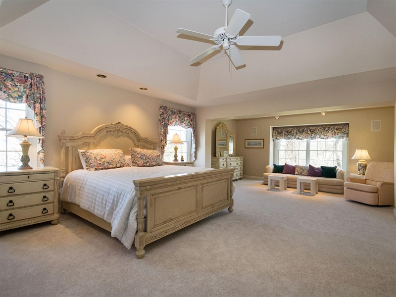 Real Estate Photography - 1110 Alexander Ln, West Chester, PA, 19382 - Master Bedroom