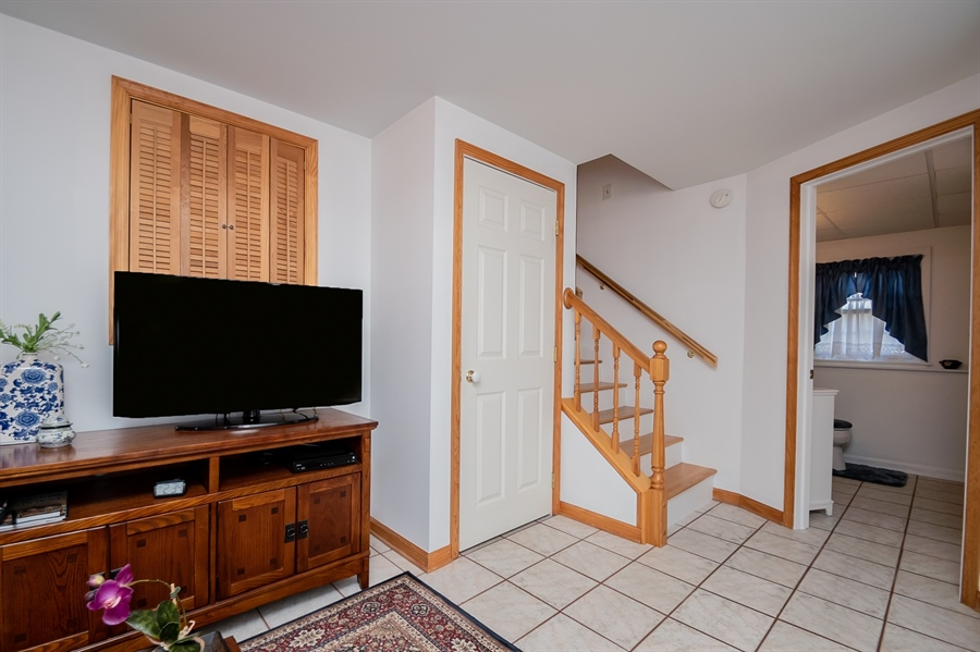 Real Estate Photography - 1013 Kendall Rd, Wilmington, DE, 19805 - Stairs to Family Room