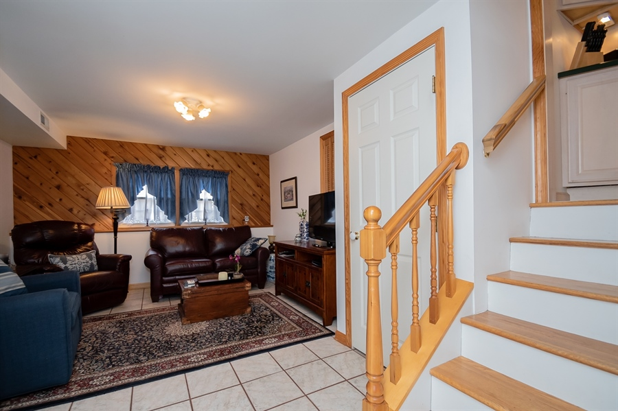 Real Estate Photography - 1013 Kendall Rd, Wilmington, DE, 19805 - Family Room w/ Ceramic Tile Flooring
