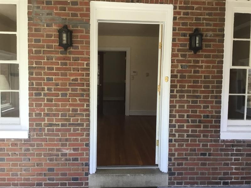 Real Estate Photography - 825 N Harrison St, Wilmington, DE, 19806 - Front Porch entering LR