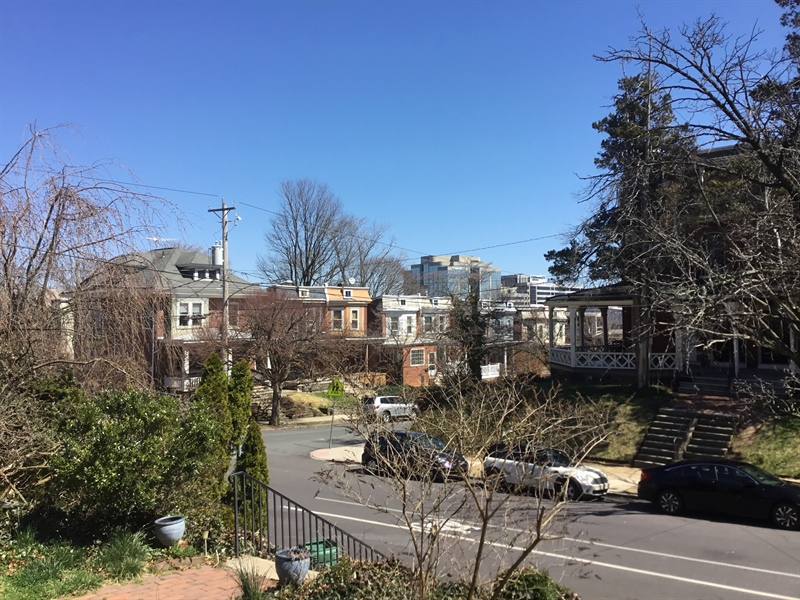 Real Estate Photography - 825 N Harrison St, Wilmington, DE, 19806 - View from front steps