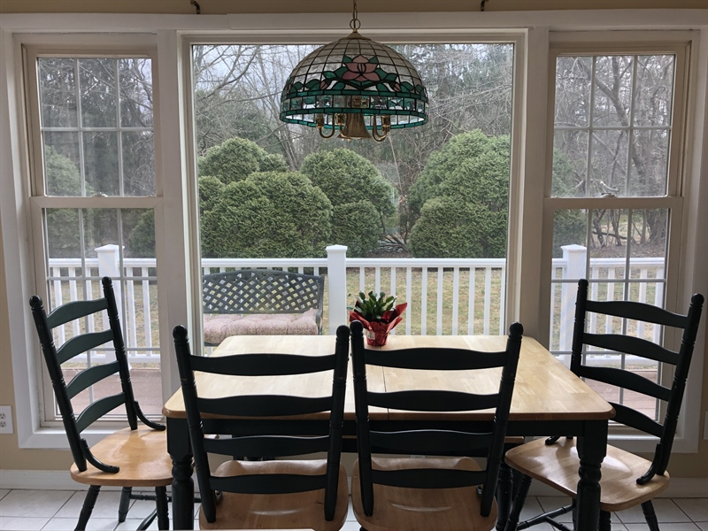 Real Estate Photography - 4 N Parkway, Elkton, MD, 21921 - Breakfast Area