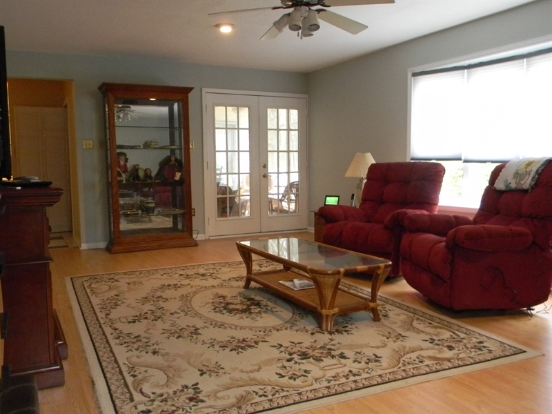 Real Estate Photography - 4 N Parkway, Elkton, MD, 21921 - Family Room - opens to screened porch