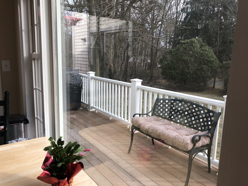 Real Estate Photography - 4 N Parkway, Elkton, MD, 21921 - Expansive Deck