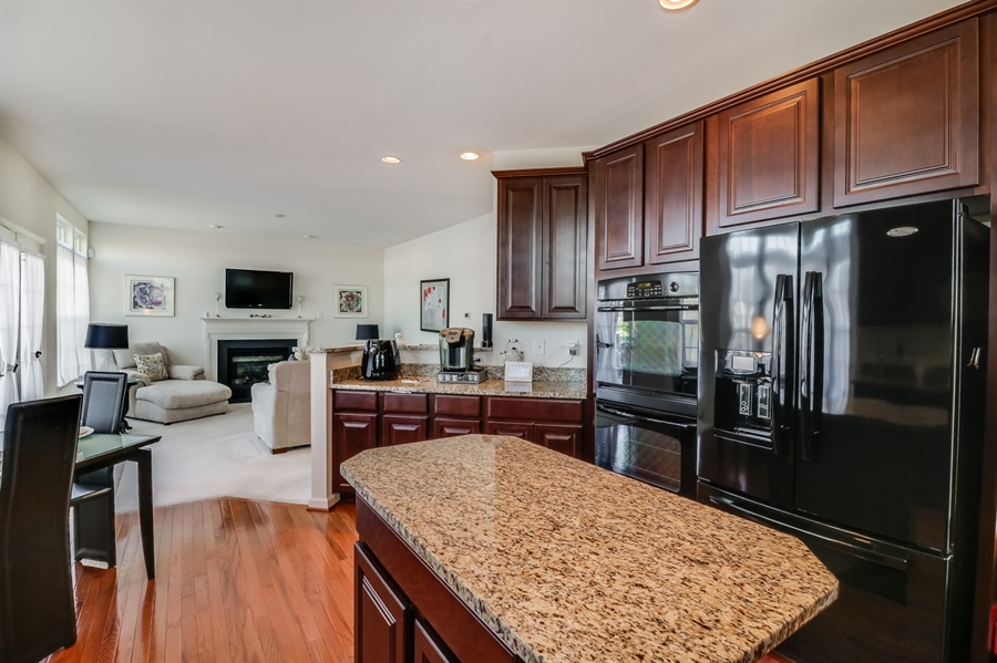 Real Estate Photography - 198 Harvest Grove Trl, Dover, DE, 19901 - Granite Countertops