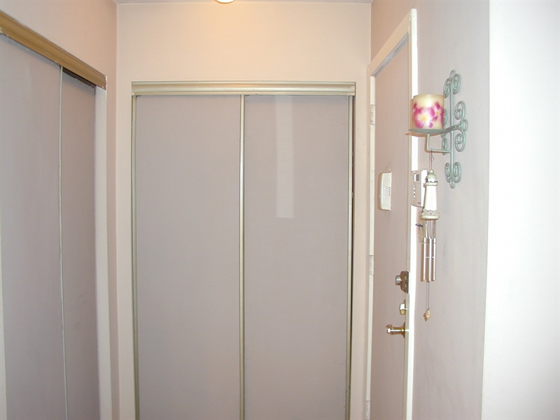 Real Estate Photography - 5036 W Brigantine Ct, Wilmington, DE, 19808 - Front Door Double closets