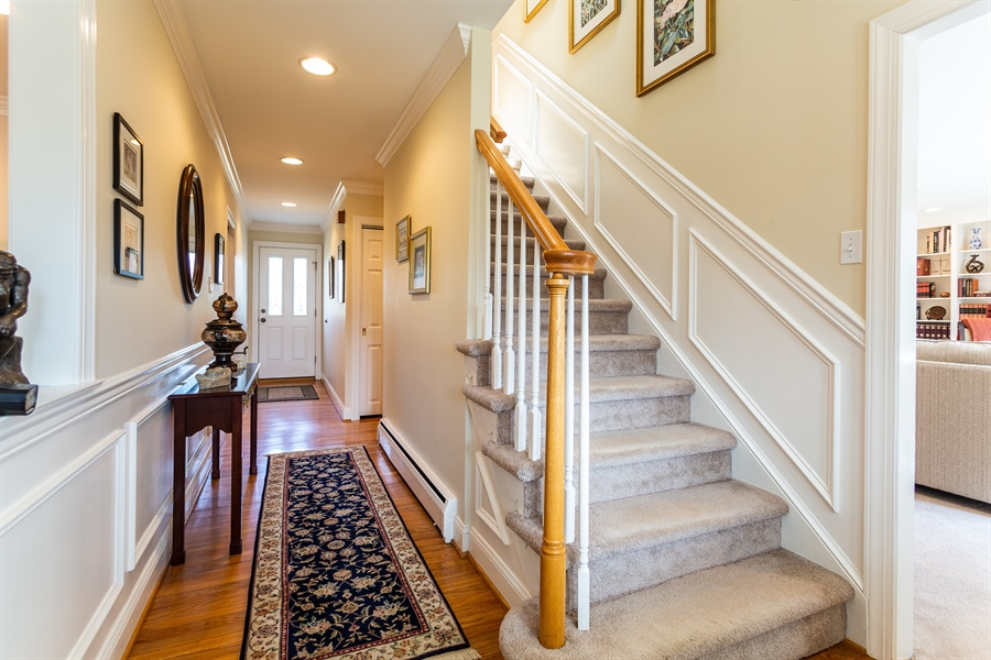 Real Estate Photography - 3804 Valley Brook Dr, Wilmington, DE, 19808 - Foyer