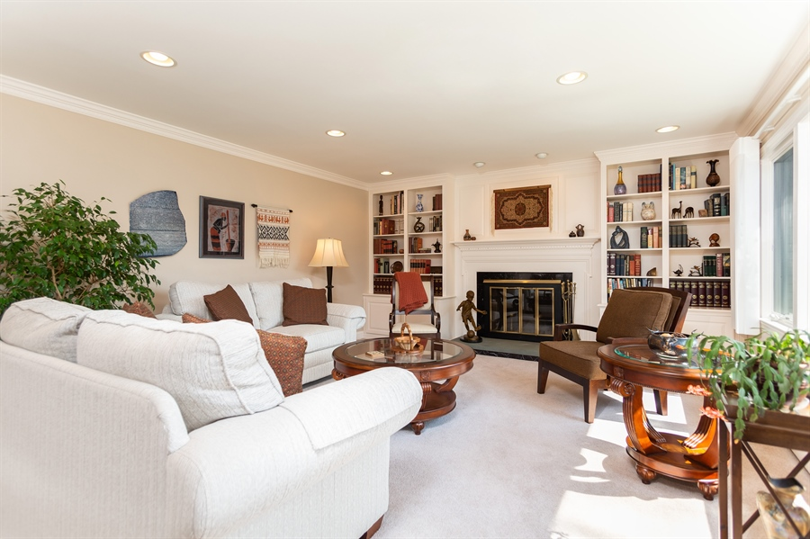 Real Estate Photography - 3804 Valley Brook Dr, Wilmington, DE, 19808 - Living Room