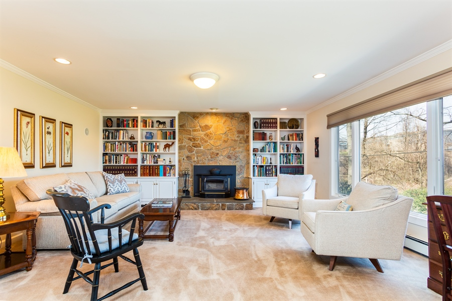 Real Estate Photography - 3804 Valley Brook Dr, Wilmington, DE, 19808 - Family Room