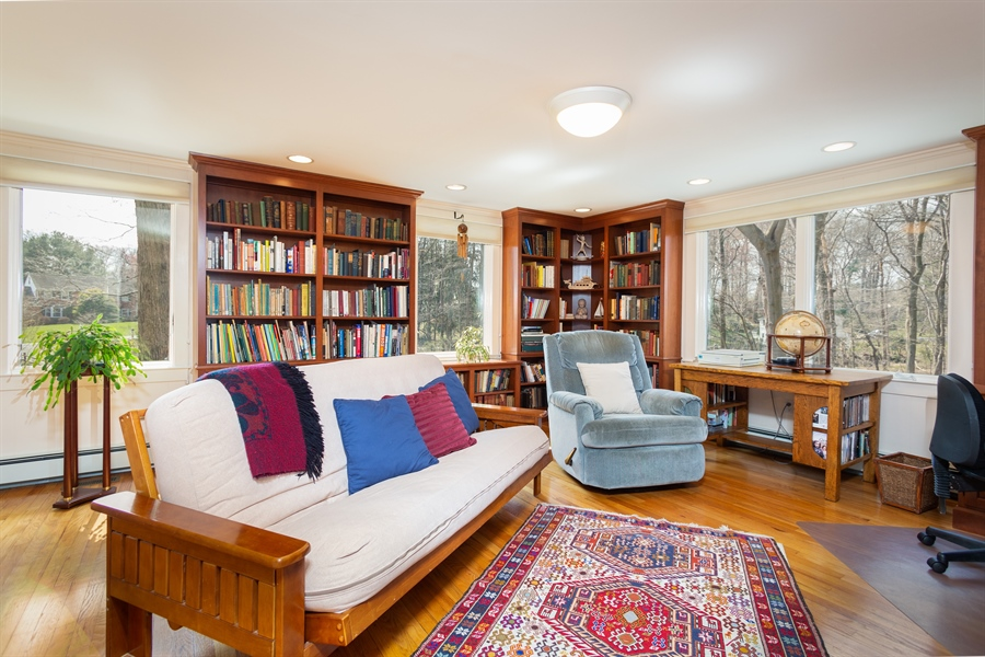 Real Estate Photography - 3804 Valley Brook Dr, Wilmington, DE, 19808 - Library