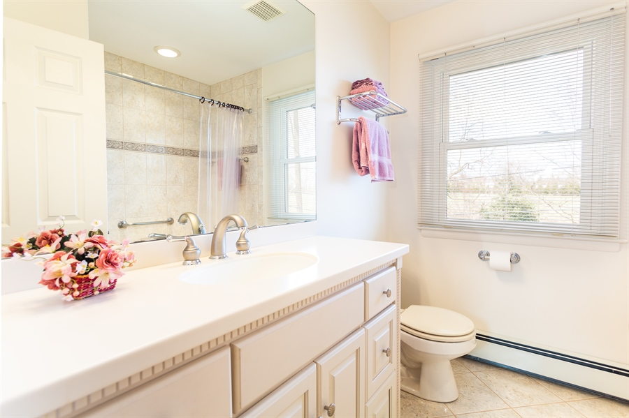 Real Estate Photography - 3804 Valley Brook Dr, Wilmington, DE, 19808 - Second Floor Hall Bath