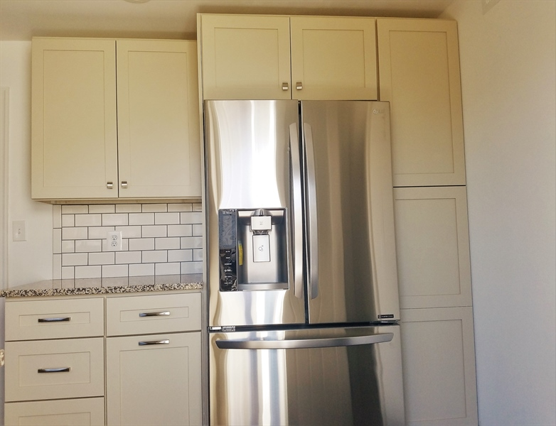 Real Estate Photography - 103 Sandra Rd, Wilmington, DE, 19803 - Additional cabinets w\ stainless steel appliances