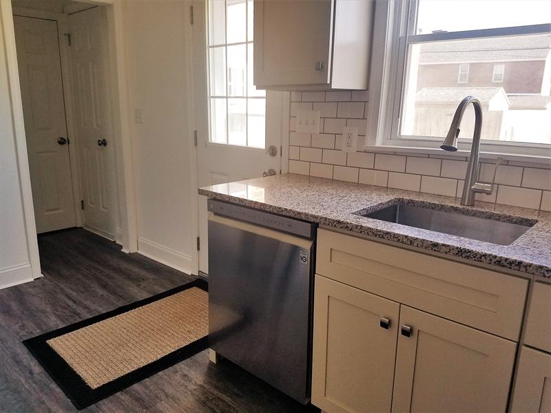 Real Estate Photography - 103 Sandra Rd, Wilmington, DE, 19803 - Back door right into kitchen