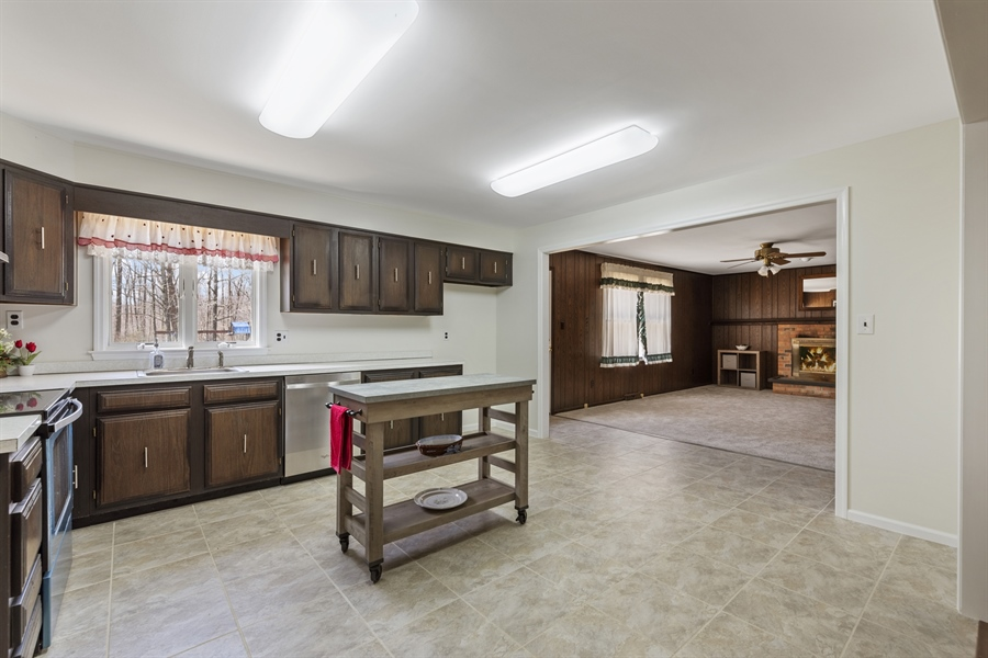 Real Estate Photography - 60 Filbert Ln, Elkton, MD, 21921 - OPEN KITCHEN TO FAMILY ROOM