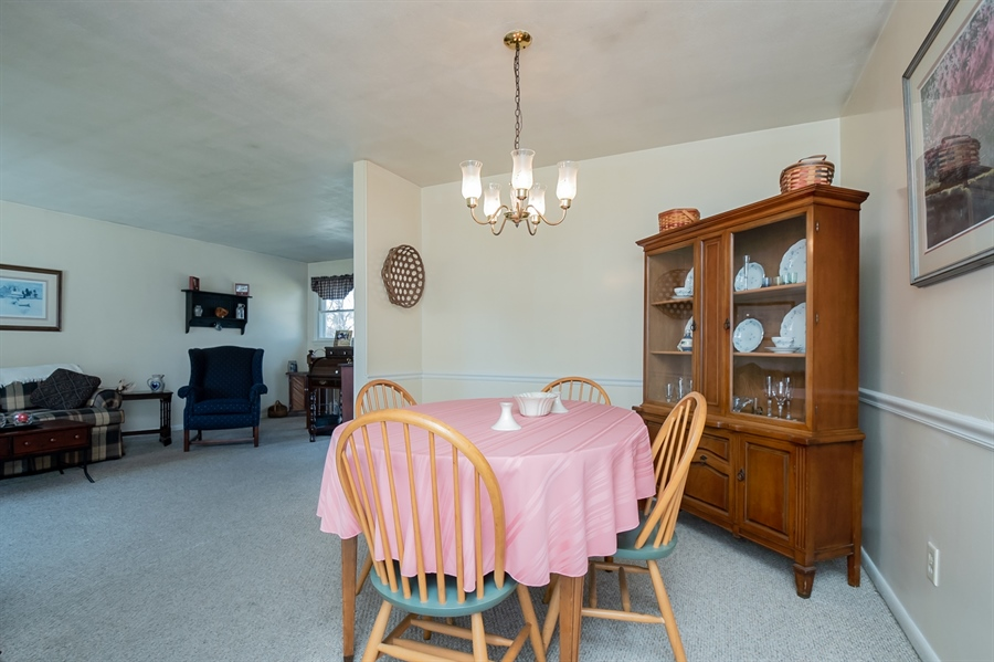 Real Estate Photography - 2415 W Eric Dr, Wilmington, DE, 19808 - Dining room, looking towards the living room