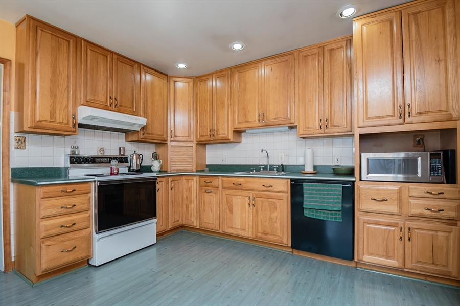 Real Estate Photography - 2415 W Eric Dr, Wilmington, DE, 19808 - Kitchen was remodeled in the late 90's