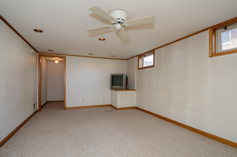 Real Estate Photography - 2415 W Eric Dr, Wilmington, DE, 19808 - Finished room in basement