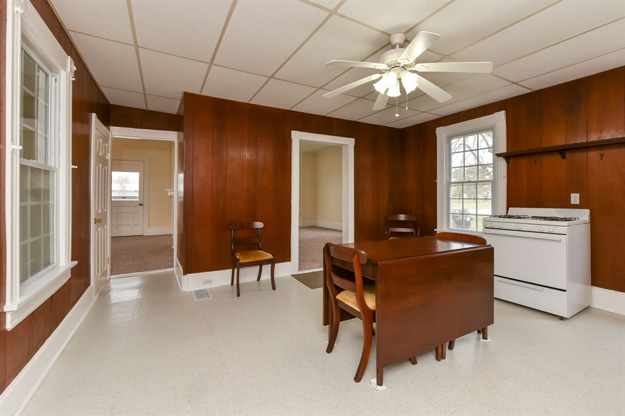 Real Estate Photography - 176 Main St, Warwick, MD, 21912 - Opens to both Living and Dining Rooms