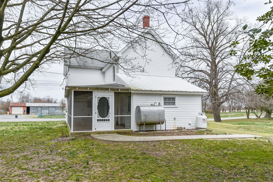 Real Estate Photography - 176 Main St, Warwick, MD, 21912 - From the backyard