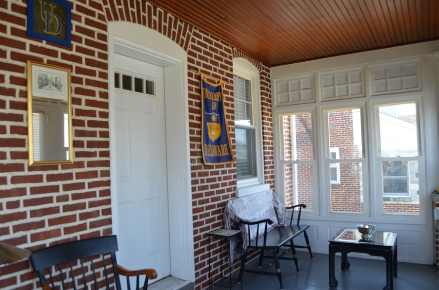 Real Estate Photography - 20 S Cleveland Ave, Wilmington, DE, 19805 - Relaxing Front Porch
