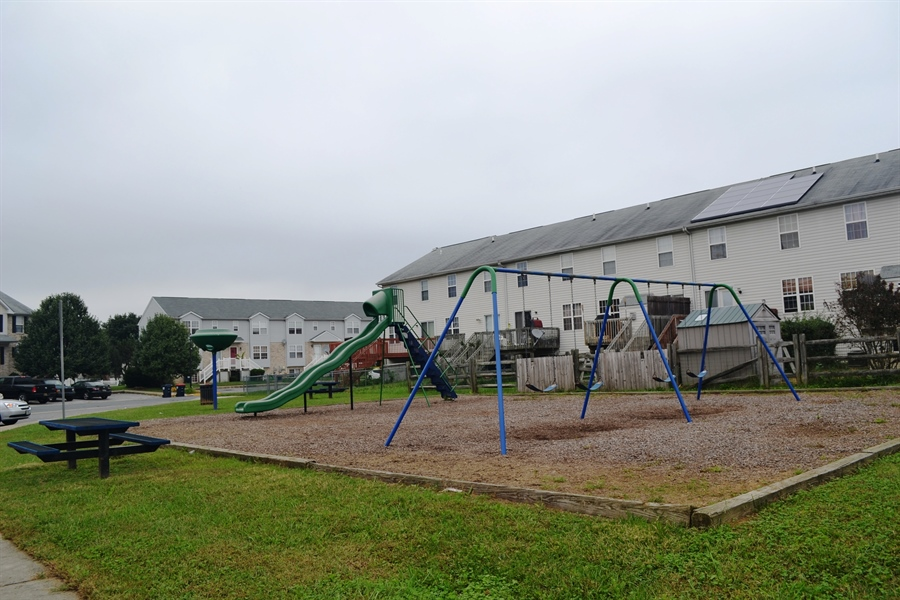 Real Estate Photography - 416 Champs Ln, Middletown, DE, 19709 - Playground in Community