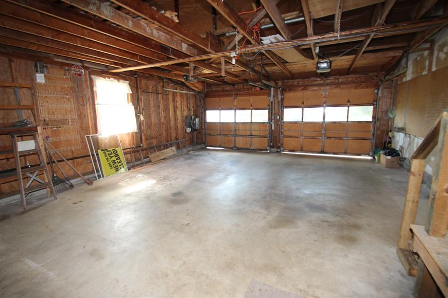 Real Estate Photography - 453 Howell School Rd, Bear, DE, 19701 - 2 Car Oversized Garage