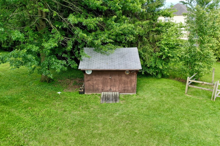 Real Estate Photography - 453 Howell School Rd, Bear, DE, 19701 - Shed