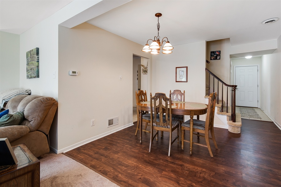 Real Estate Photography - 258 Green Ln, Newark, DE, 19711 - Dining Room w/New Hard Wood Floors