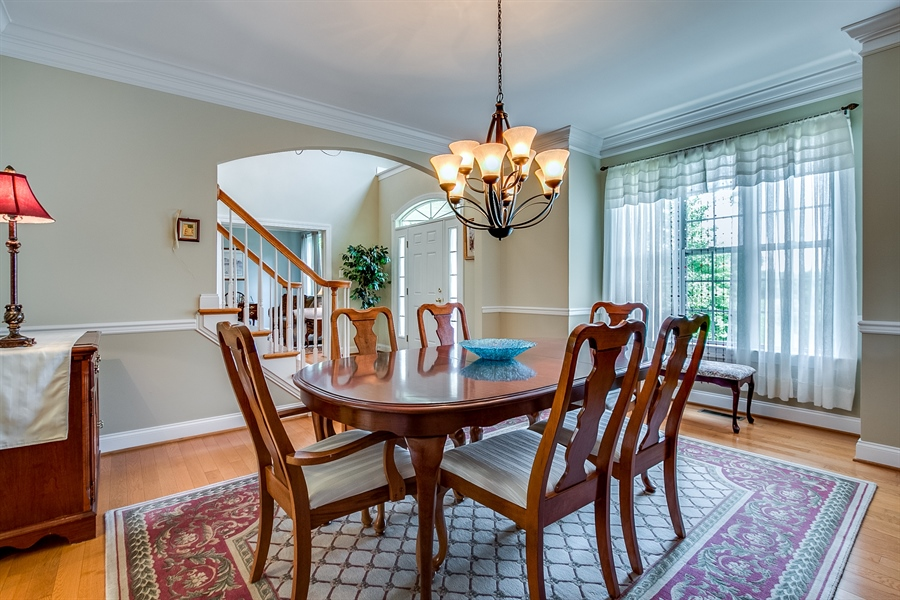 Real Estate Photography - 131 Viburnum Dr, Kennett Square, PA, 19348 - Charming, Sunny Dining Room