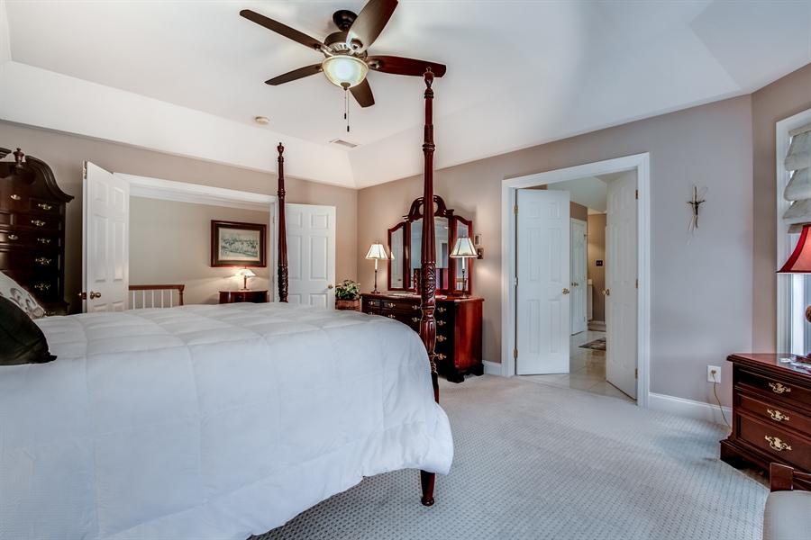 Real Estate Photography - 131 Viburnum Dr, Kennett Square, PA, 19348 - Master With Tray Ceiling