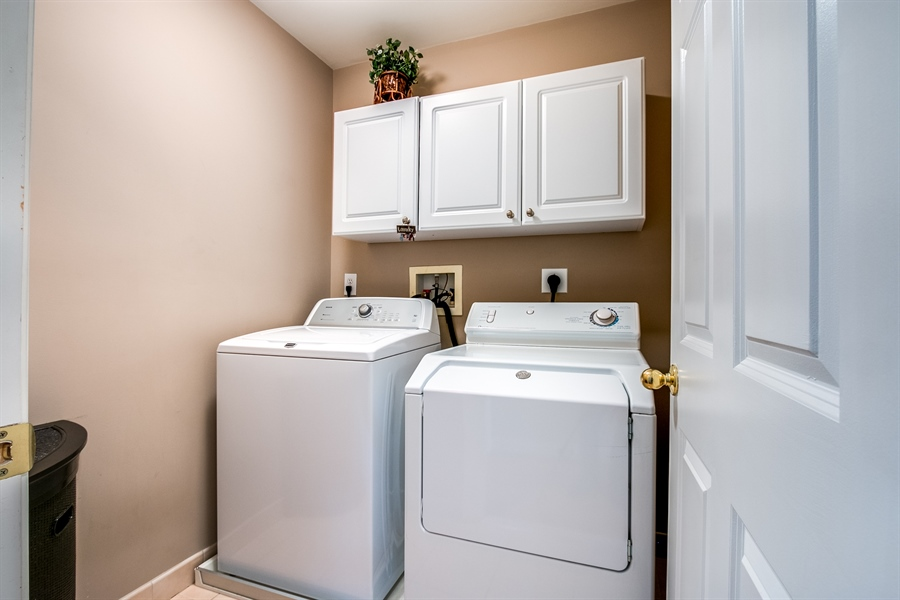 Real Estate Photography - 131 Viburnum Dr, Kennett Square, PA, 19348 - Upstairs Laundry Area