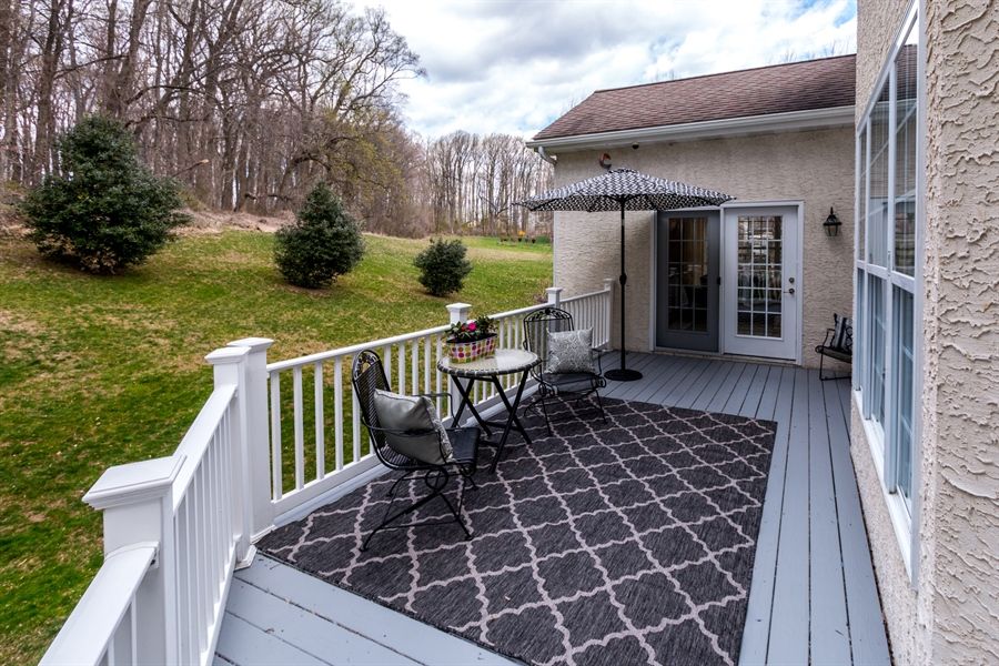 Real Estate Photography - 131 Viburnum Dr, Kennett Square, PA, 19348 - Beautiful Private Deck