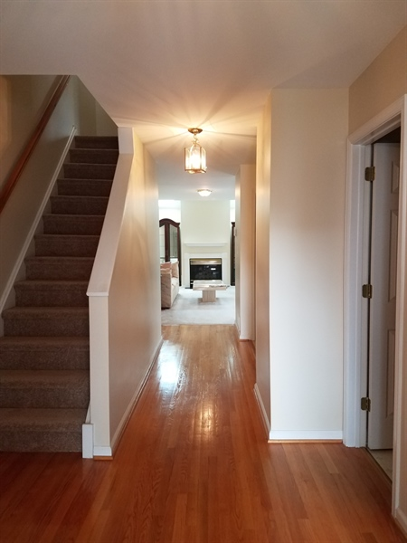 Real Estate Photography - 187 Steven Ln, Wilmington, DE, 19808 - Hardwood floors upon entry