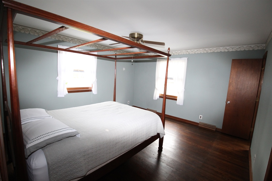 Real Estate Photography - 321 E 14th St, New Castle, DE, 19720 - Master bedroom with attached full bath