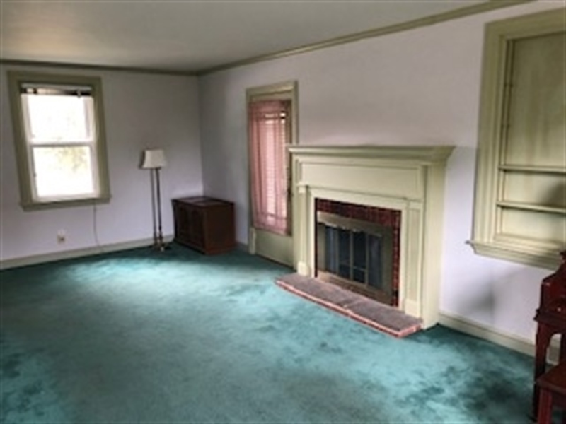 Real Estate Photography - 1705 Linden St, Wilmington, DE, 19805 - Living Room w/ Fireplace