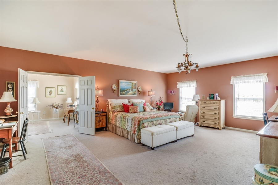 Real Estate Photography - 322 Ellenwood Dr, Middletown, DE, 19709 - Master Bedroom