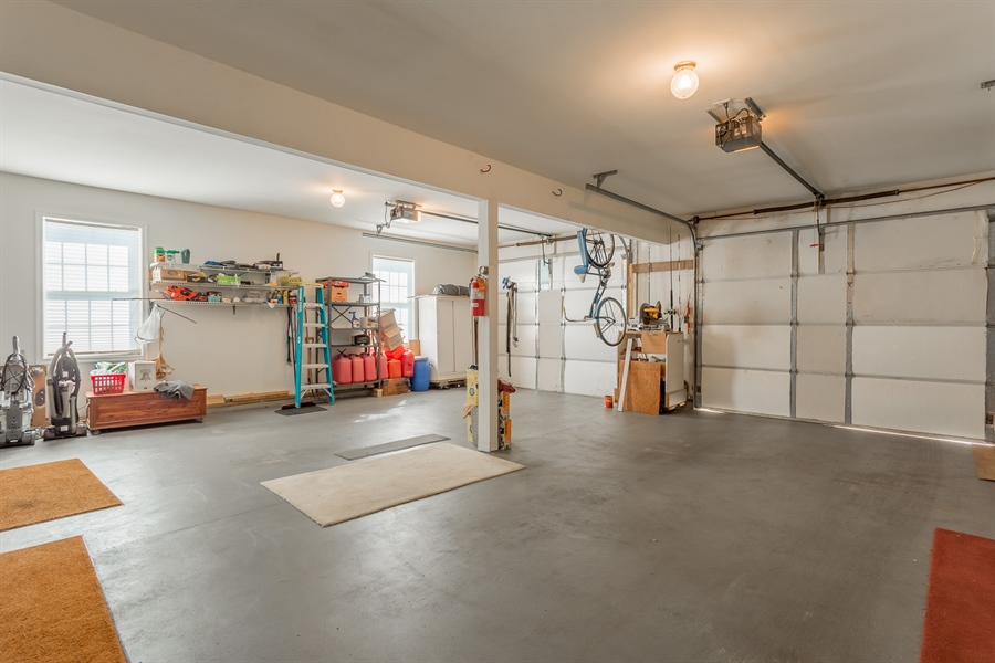 Real Estate Photography - 32492 Mariners Way, Millsboro, DE, 19966 - Full two-car garage with plenty of storage