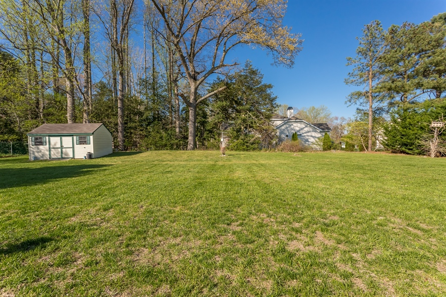 Real Estate Photography - 32492 Mariners Way, Millsboro, DE, 19966 - 1/2 acre lot with spacious rear yard