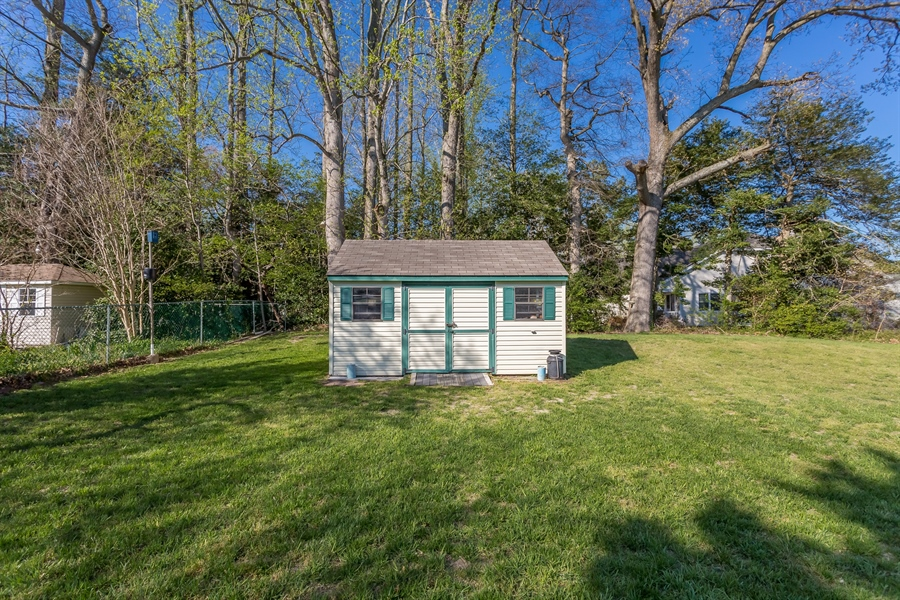 Real Estate Photography - 32492 Mariners Way, Millsboro, DE, 19966 - Shed