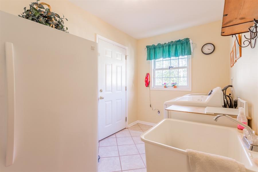 Real Estate Photography - 32492 Mariners Way, Millsboro, DE, 19966 - Laundry room with closet