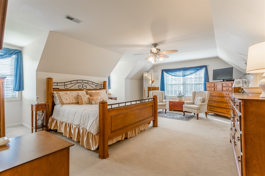 Real Estate Photography - 32492 Mariners Way, Millsboro, DE, 19966 - 2nd Owner's Suite, double closets, and bathroom