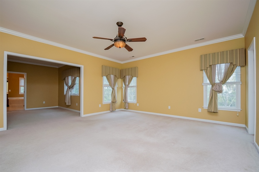Real Estate Photography - 420 Nattull Dr, Bear, DE, 19701 - Owner's Suite with Retreat Area