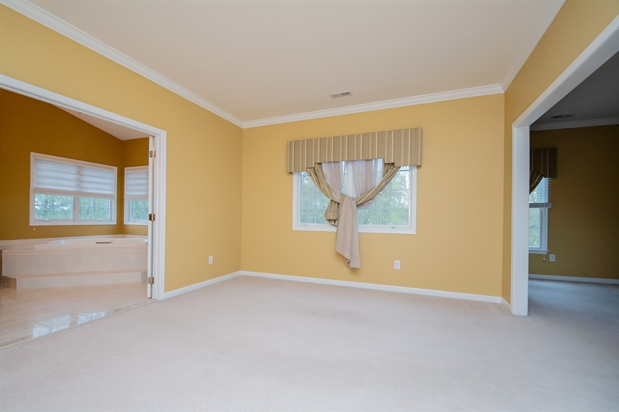 Real Estate Photography - 420 Nattull Dr, Bear, DE, 19701 - Owner's Suite - Two Walk-In Closets