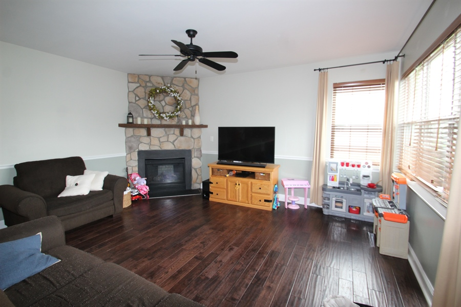 Real Estate Photography - 3 Orchid Dr, Bear, DE, 19701 - Family Room