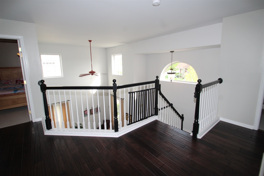 Real Estate Photography - 3 Orchid Dr, Bear, DE, 19701 - Upstairs Hallway