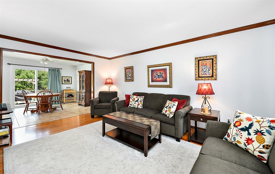 Real Estate Photography - 131 Bernice Dr, Bear, DE, 19701 - Family RM to Kitchen